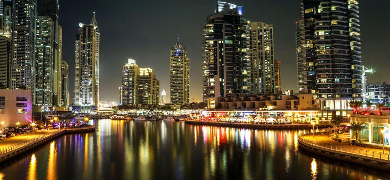cruise the marina dubai